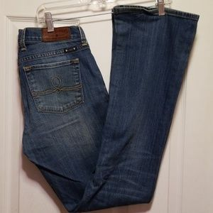 Womans Lucky Brand Sofia Boot jeans